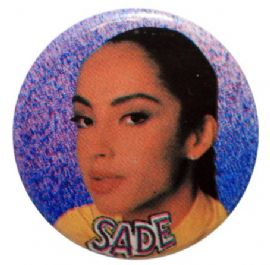 Sade - 'Sade Adu' Button Badge